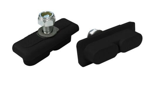 Kool Stop CONTINENTAL brake BMX pads for mag wheels Skyway Tuff ACS BLACK