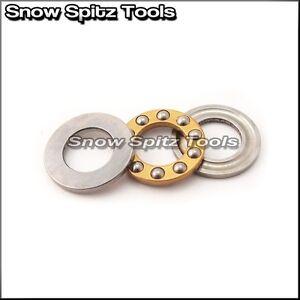 [Pack of 2] F10-18M 10x18x5.5 mm Metal Thrust Ball Bearing Bearings 10*18*5.5