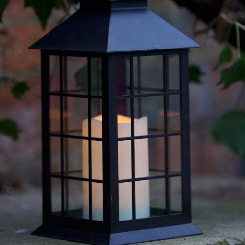 Smart Garden B-O Indoor Outdoor Flickering LED Candle Decorative Window Lantern