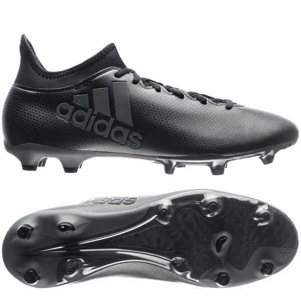 a65271b4f adidas X 17.3 FG 2017 Soccer Shoes Cleats Blackout Pure Black 11 for sale  online