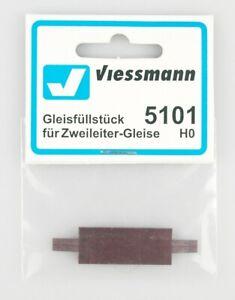 Viessmann-Spur-h0-5101-gleisfullstuck-para-dos-escalera-vias-embalaje-original-top