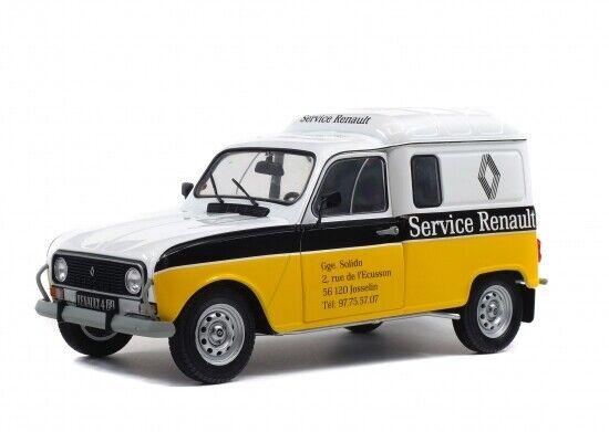 PRECOMMANDE  Renault 4LF4 Renault Service 1 18 Solido S1802202