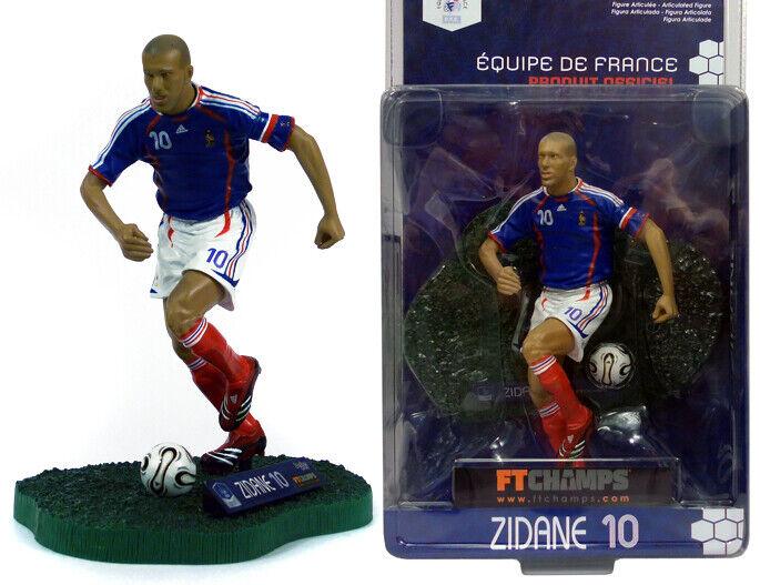 Zinedine Zidane FT CHAMPS coupe du monde  2006 Figure FRANCE REAL MADRID JUVENTUS MOC  À ne pas manquer!