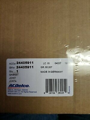 ACDelco 24405911 GM Original Equipment Timing Cover Gasket