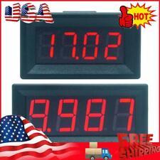 Mini Digital Led Display 4 Bits 0 100v Voltmeter Panel Volt Voltage Meter Usa