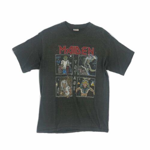 1987 IRON MAIDEN 'VOYAGE' TOUR TEE