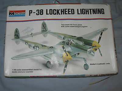 Monogram 1/48 Lockheed P-38 Lightning model 6848