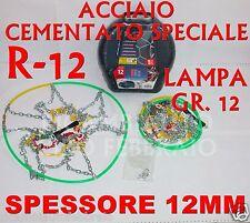 Catene da neve Da 12MM Lampa Gr.12 16039 Dacia Duster Pneumatico 215/65R16