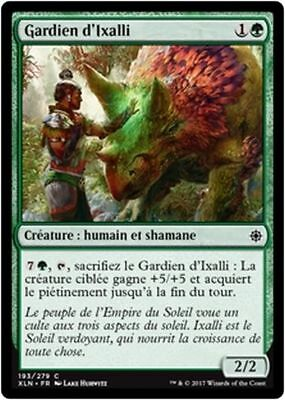 x4 Ixalli/'s Diviner//Devineresse d/'Ixalli French//VF MTG Magic XLN -