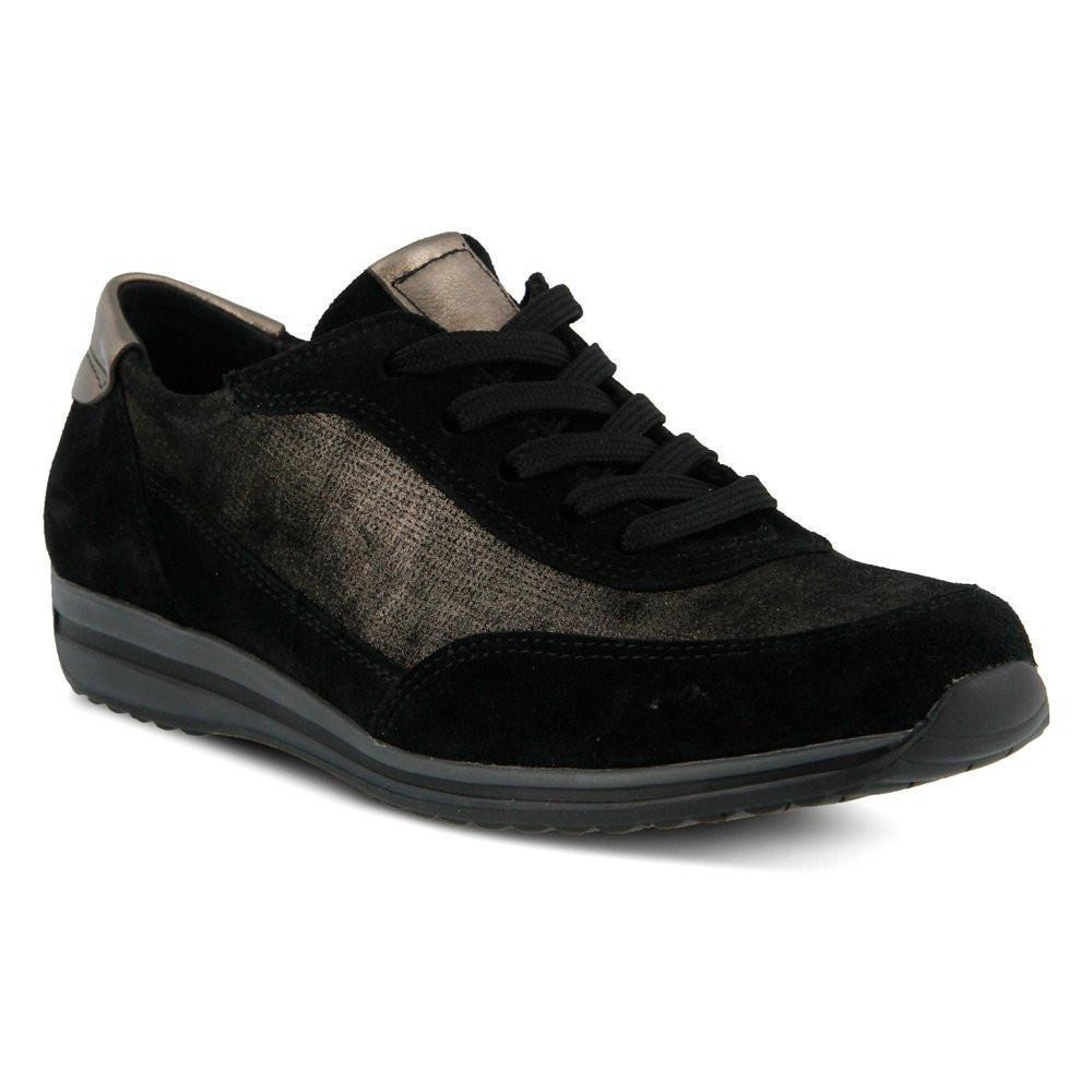 Spring Step Tolima Bronze Multi Suede Walking Shoe Lace Up Size 36-40 (  5.5-9)