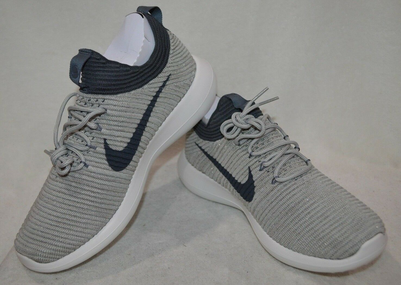 Nike Roshe Two Flyknit V2 P-Grey/Dark Grey Women's Running Shoes-Asst Sizes NWB