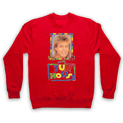 FUN HOUSE PAT SHARP UNOFFICIAL TV 1980's JUMPER SWEATER PULLOVER ADULTS & KIDS