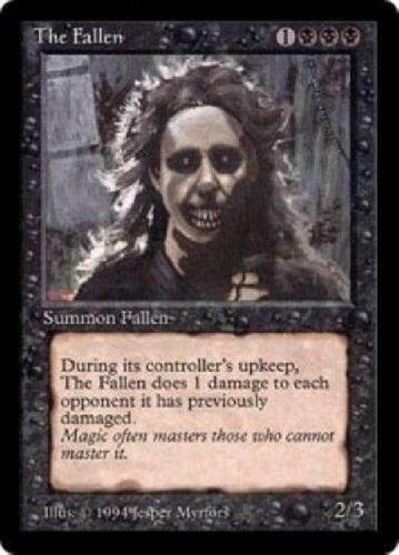The Fallen The Dark MtG NM
