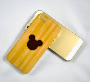 Mickey Mouse Wood Background Disney Phone Case