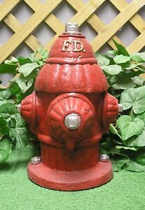 Details about Fire Department Fire Hydrant Fireplug Latex Fiberglass Mold  Concrete Plaster