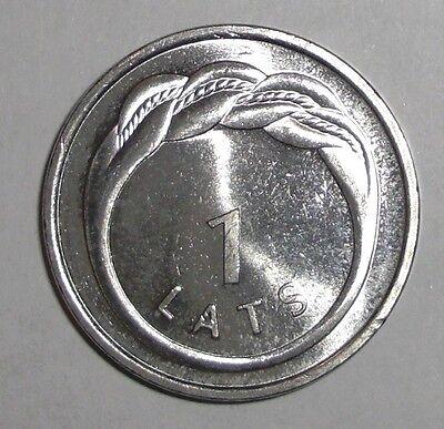 2009 Latvia 1 lats, Namejs Ring, coin