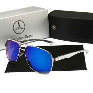 097745a7de5 Image is loading New-2019-Mercedes-Sunglasses-Classis-Polarized-UV400-Mens-