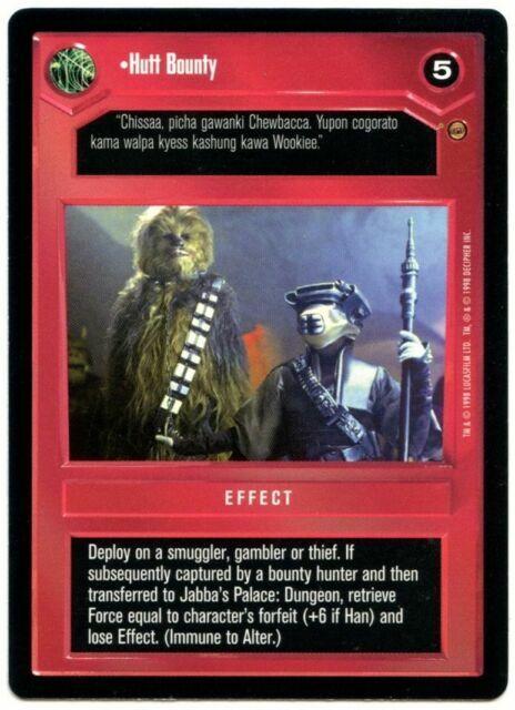 Star Wars CCG Jabbas Palace Card Jabbas Palace Dungeon