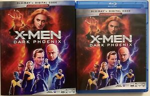 X-MEN-DARK-PHOENIX-BLU-RAY-SLIPCOVER-SLEEVE-MULTI-SCREEN-EDITION-FREE-SHIPPING