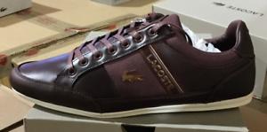 Sale-Lacoste-Chaymon-318-7-U-CAM-Men-039-s-Casual-Shoes-Dark-Brown-7-36CAM00841W7-O