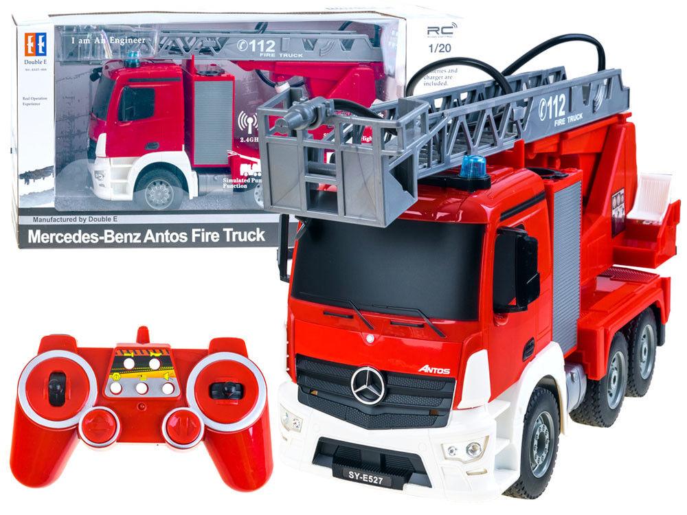 CAMION  dei Pompieri Radio Remoto Controllato FIRE ENGINE 1 20 MERCEDES ANTOS 2,4GHz NUOVO  fino al 60% di sconto