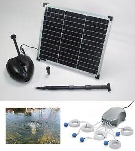 30w solaire pompe étang pompe filtre pompe immergée pour solaire pumpenset Batterie pompe Batterie