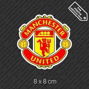 Fc Manchester United Logo Sticker England Uk Football