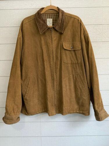 Vintage Old Navy Cordoroy Jacket Coat Barn Brown C