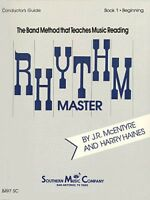 Rhythm Master Book 1 Beginner Flute 003770812