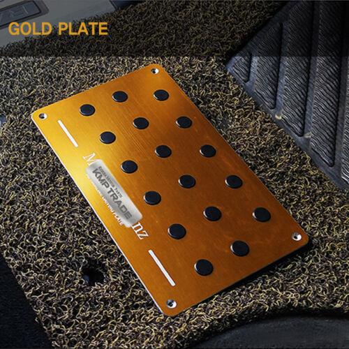 Hairline Aluminum Floor Mat Pad Non-Slip Plate Pedal for HYUNDAI 2016-2018 Ioniq