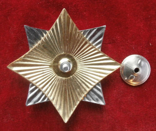 """/"""" Award a star /""""Airborne forces Anybody, except us Russian Badge"""