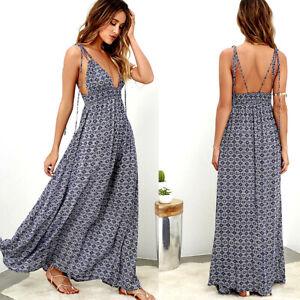 Summer-Women-Boho-Maxi-Dress-Cocktail-Casual-Evening-Party-Beach-Long-Sundress