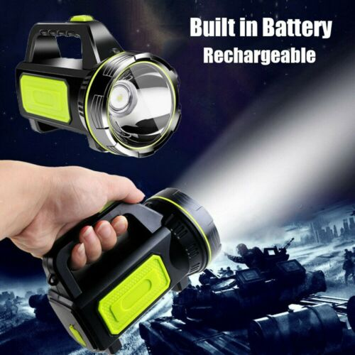 LED Flashlight Ulta Bright Spotlight Rechargeable Torch Camping Searchlight HOT