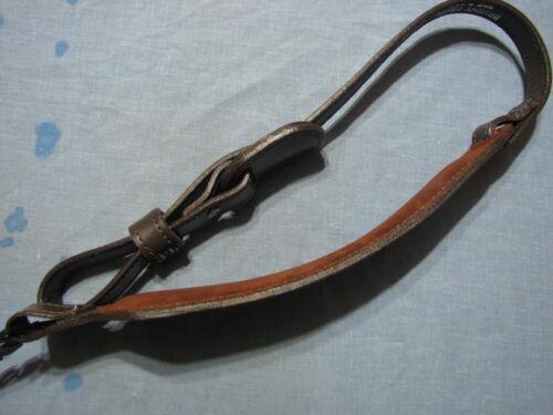 Leather Brushey Creek Deer Design Gun sling