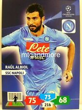 Adrenalyn XL Champions League 13/14 - Raul Albiol - SSC Napoli