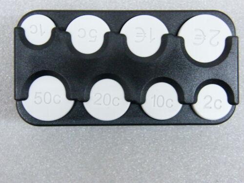 Halter für Kleingeld Groschenbox Münzenhalter Münzhalter für Euro Münzen