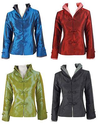 New Style Taffeta Women's jacket Coat Evening Dress Sz:M-L-XL-XXL-XXXL CN3042#