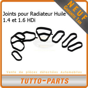 Joints-Radiateur-d-039-huile-Citroen-Peugeot-1-4-1-6-HDi-1103K2-1103N9-1145941