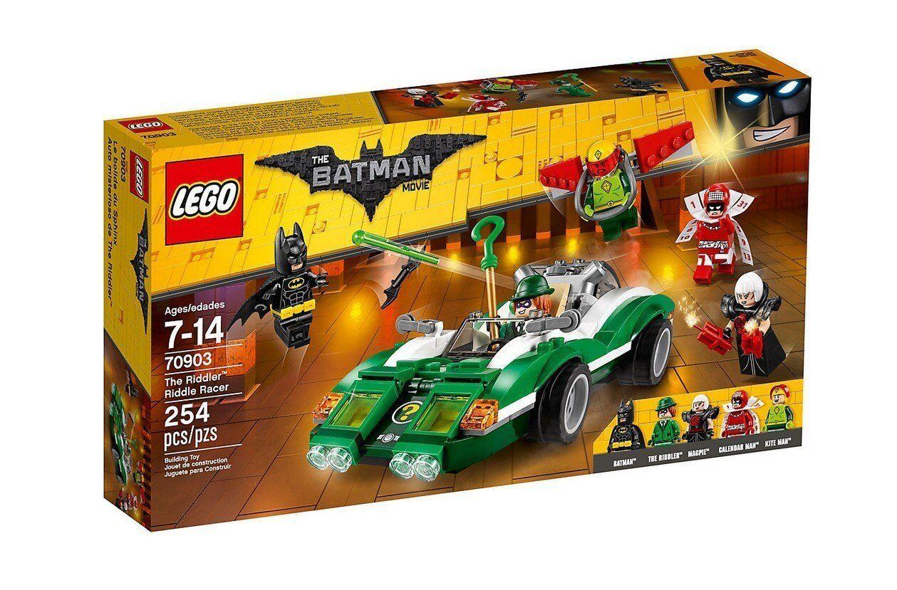 LEGO BATMAN 70903: l'Enigmista Enigma Racer-Nuovo di Zecca