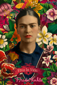FRIDA-KAHLO-COLLAGE-POSTER-24x36-ART-241443