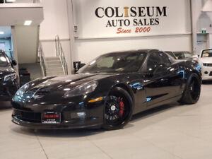 2009 Chevrolet Corvette Z06-6 SPEED-NAVIGATION-360 FORGED WHEELS- *505HP*