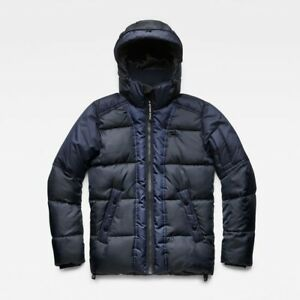 G-Star-Raw-Whistler-Hooded-Quilted-Jacket-Uk-Size-XXL