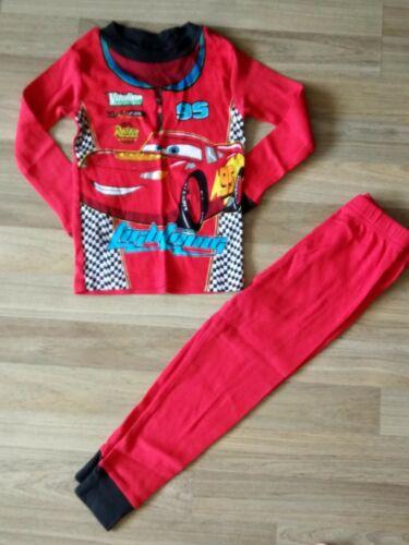 Disney Pixar Cars Lightning Mcqueen toddler boys pajamas size 3T