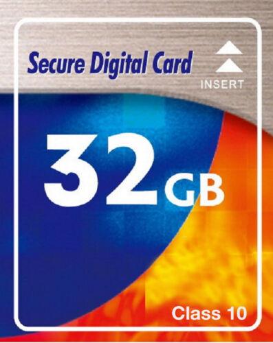 32 GB SDHC Class 10 SD HC Speicherkarte für Digital Kamera Canon EOS 1000