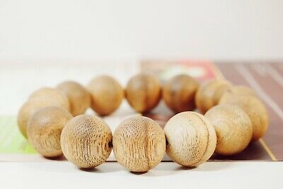 Agarwood Beaded Bracelet for Yoga Meditation Spiritual Buddhism 15mm Beads