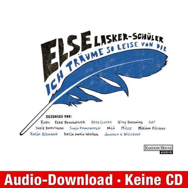 Hörbuch-Download (MP3) ★ Else Lasker-Schüler: Ich träume so leise von dir