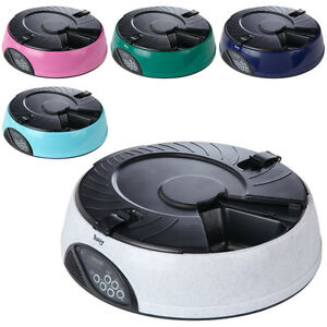 Bunty-Automatic-6-Day-Meal-Pet-Dog-Cat-Feeder-Food-Bowl-Auto-Holiday-Dispenser