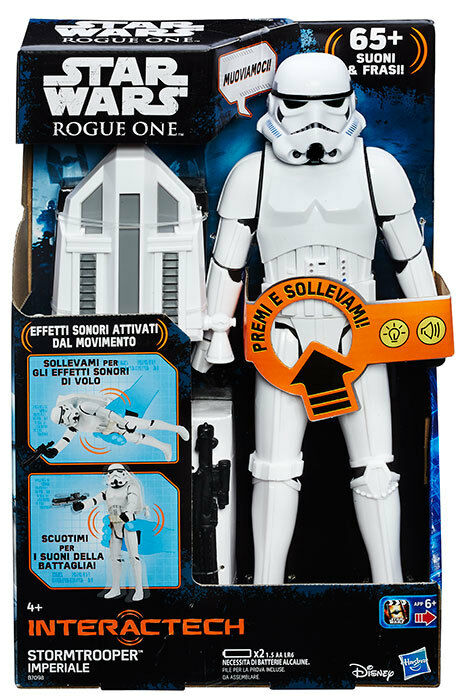 Star Wars Rogue One Stormtrooper Imperiale Interattivo Interactech 12' Figure
