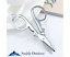 Folding Stainless Steel Mini Scissors Camping Travel Scrapbooking Sewing New