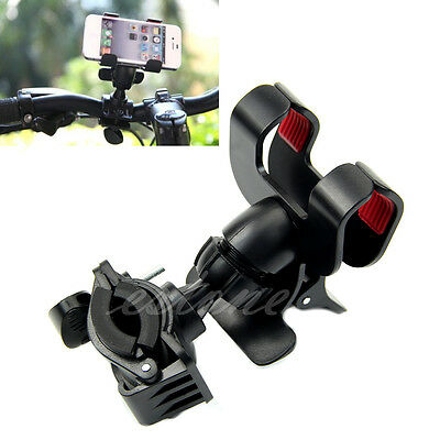 Newest Bicycle Phone Holder Handlebar Clip Stand Mount For iPhone Samsung GPS